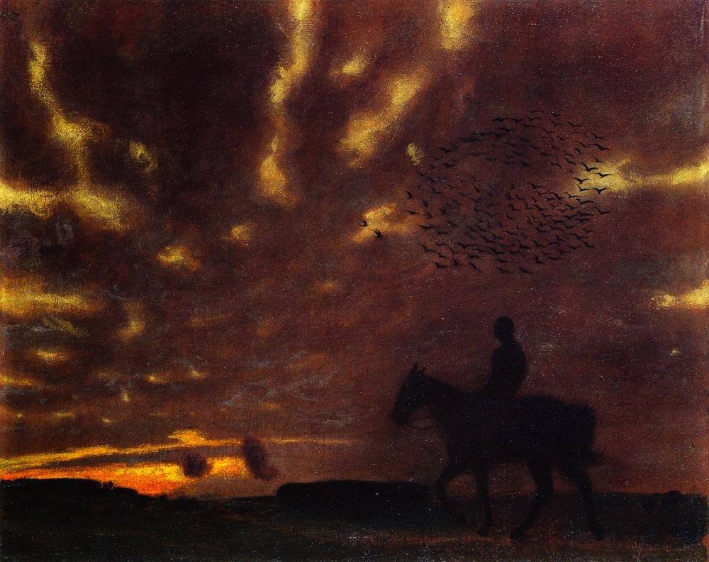 Franz von Stuck,  Autumn Evening  1900