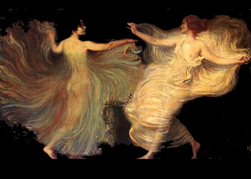 Franz von Stuck,  Dancers
