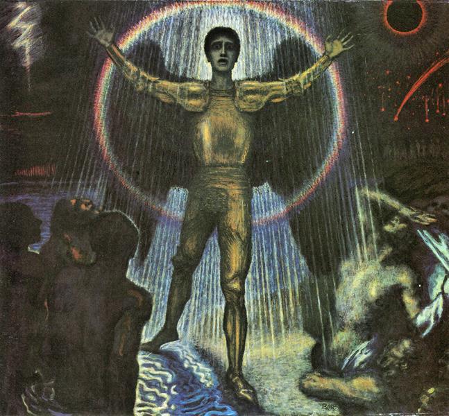 Franz von Stuck,  The Angel of the Court