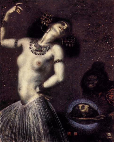 Franz von Stuck,  Salome