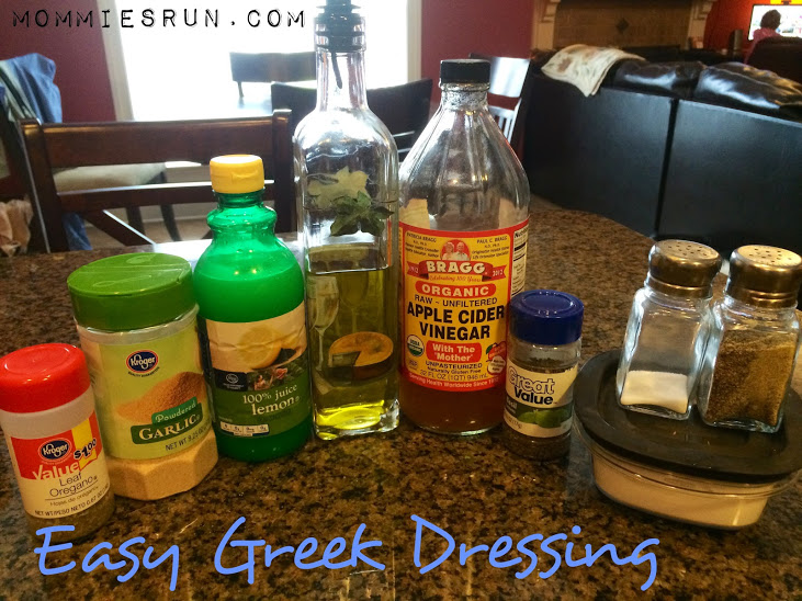 Easy Greek Dressing