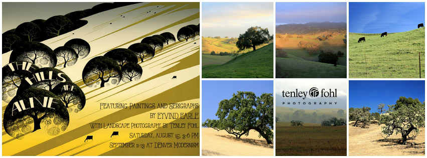 """Tenley Fohl Photos on Exhibit in New Mexico"" -- Santa Ynez Valley News article by Mary Ann Norbom.  The Hills are Alive"" Eyvind Earle & Tenley Fohl Exhibit at Palette Contemporary Art & Craft in Albuquerque, NM"