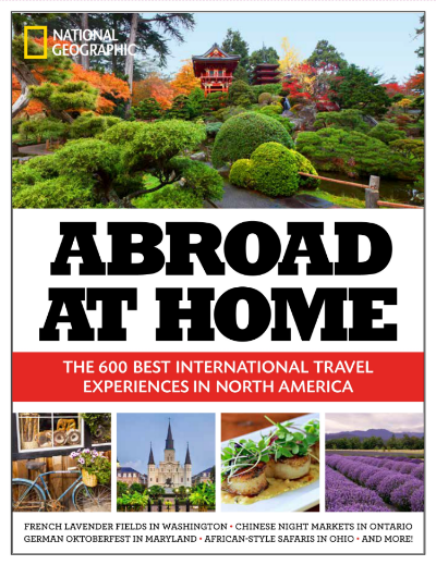 "Tenley Allensworth Fohl, Galesburg Native Lands in National Geographic Book, ""Abroad at Home"" -- Galesburg Register-Mail article by Jay Redfern."