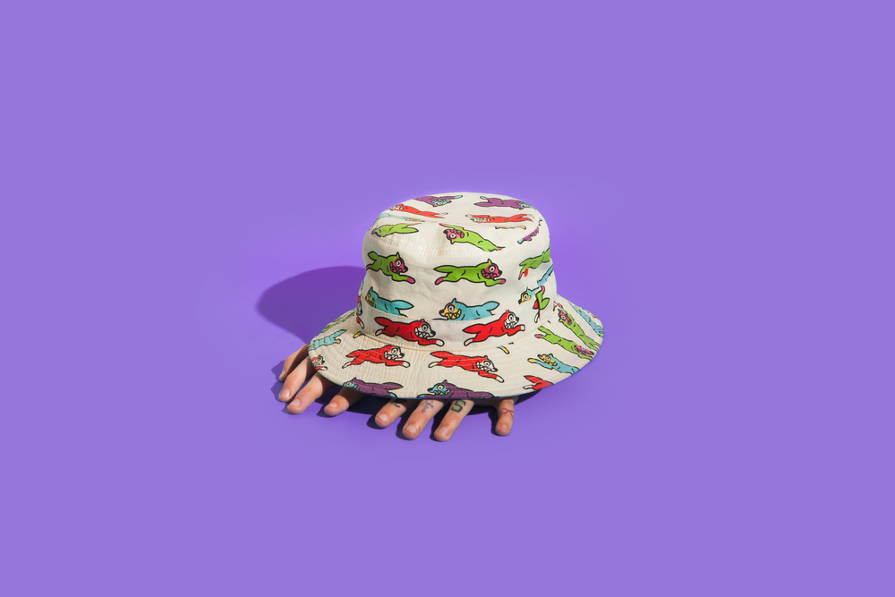 product photography bucket hat