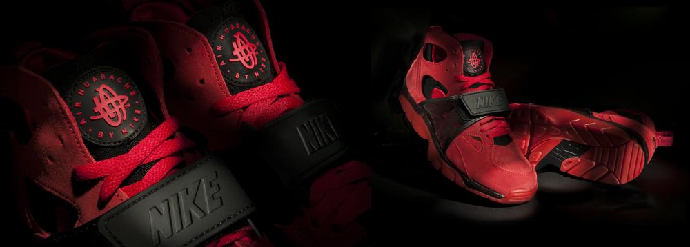 sneaker product photography nike huarache