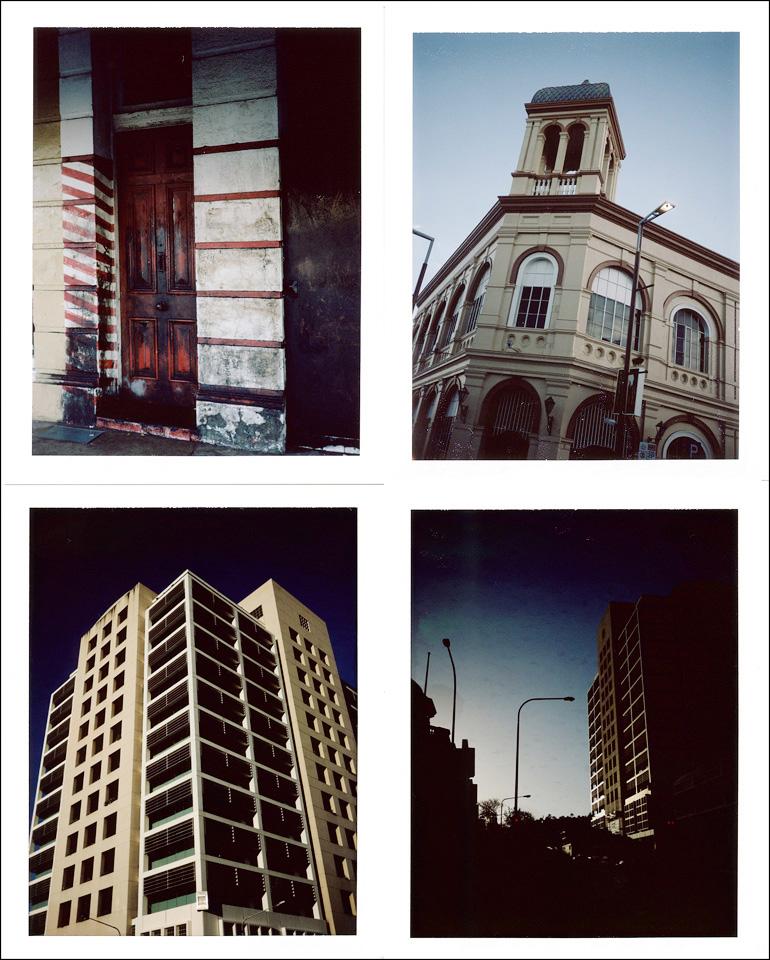Polaroid street photography