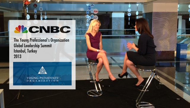 CNBC Chief International Correspondent Michelle Caruso-Cabrera interviews YPO member Debby Carreau at the 2013 Young President's Organization (YPO) Global Leadership Summit in Istanbul, Turkey. They discuss how adding more women to the executive ranks can increase company profits and the controversy over Yahoo! CEO Marissa Mayer banning employees from working at home.