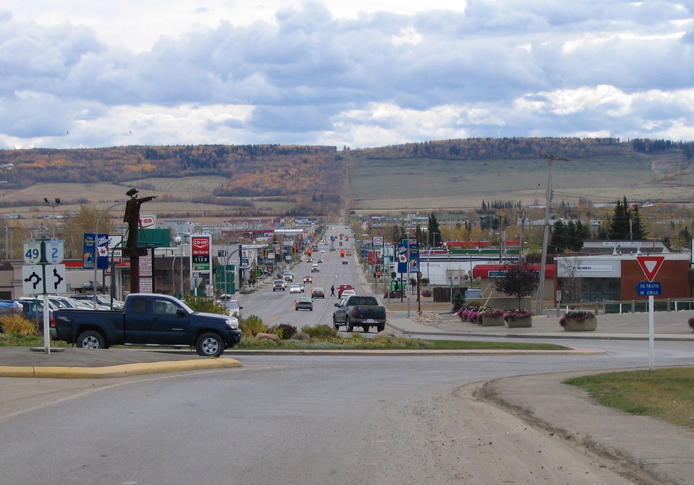 By Maclean25 ,  8 Street, Dawson Creek ,  CC BY-SA 3.0