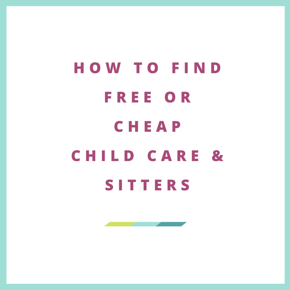 free babysitting, low cost child care, mothers helper, senor sitters