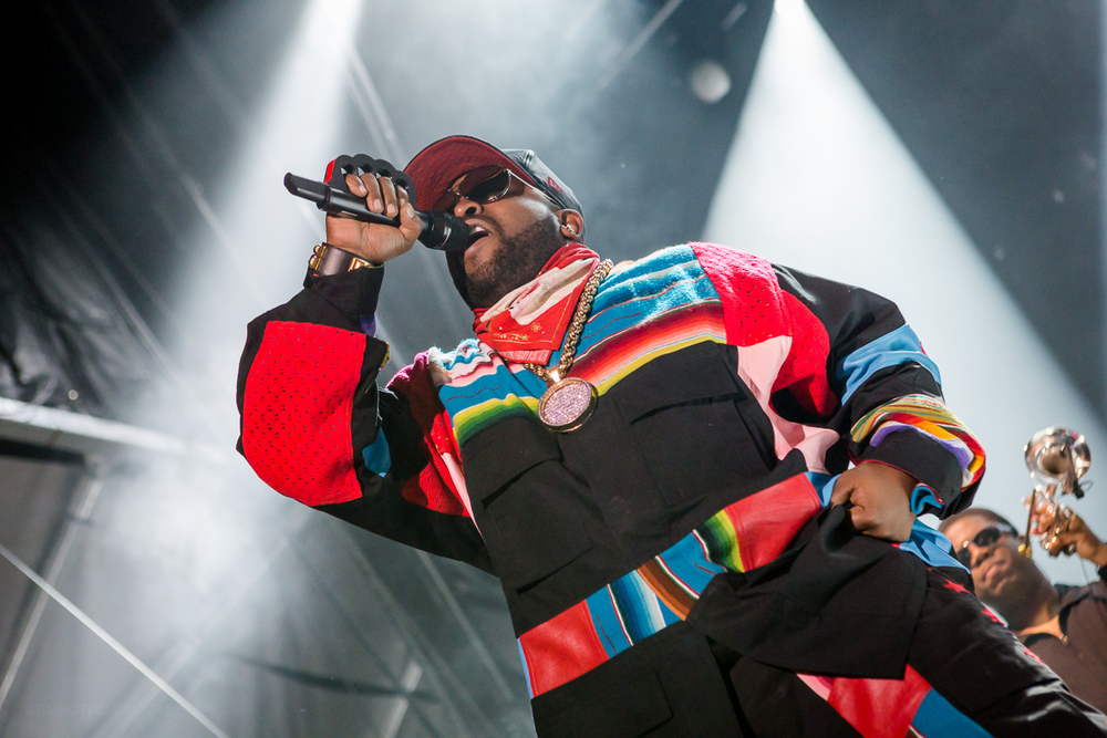 Big Boi of Outkast at LouFest