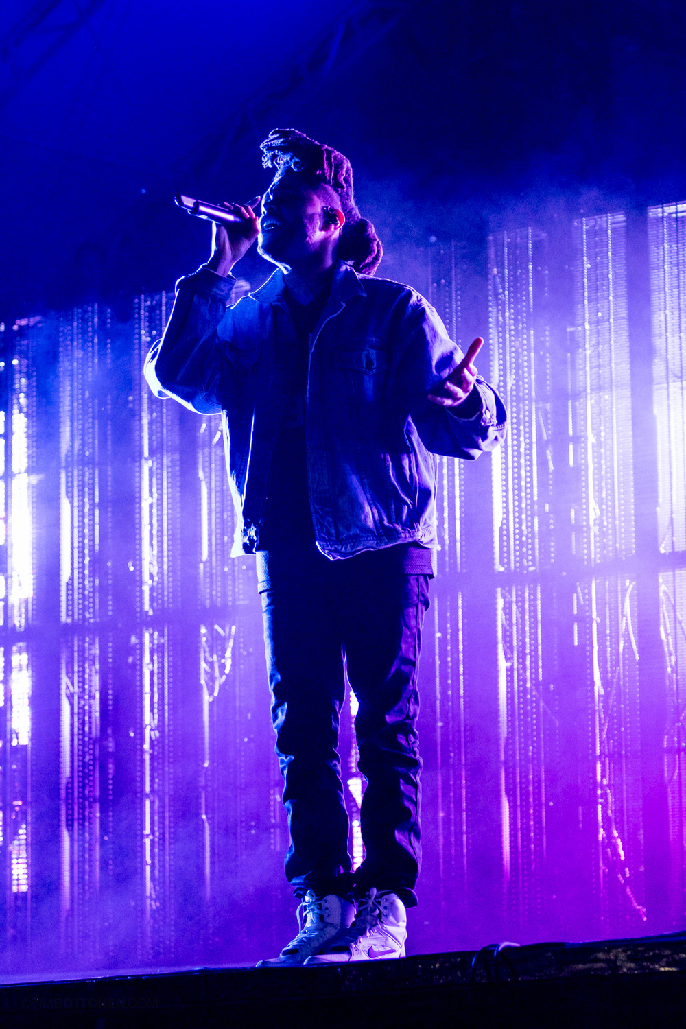 The Weeknd at Austin City Limits