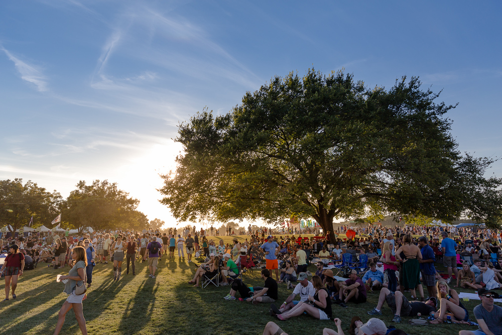 Sunset at Austin City Limits