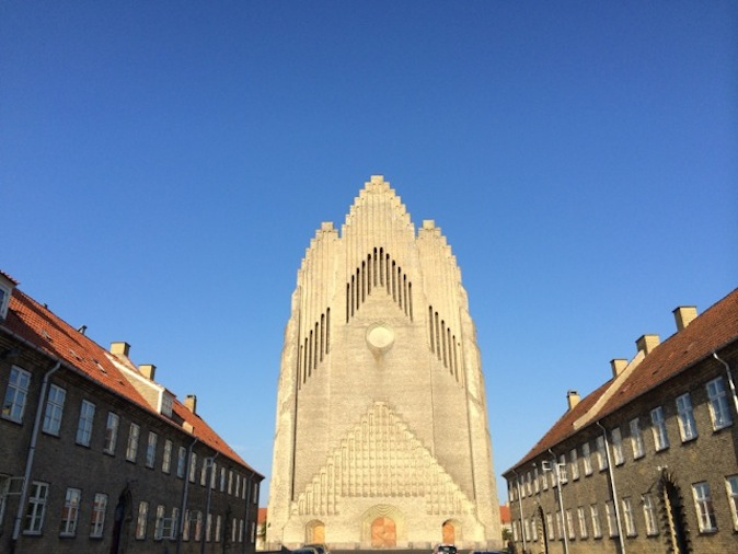 Grundtvig's Church, an fine example of Neo-Gothic expressionism.