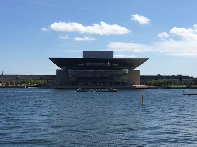 Danish architect Henning Larsen's Opera House.