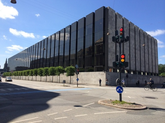 Arne Jacobsen's Danish National Bank.