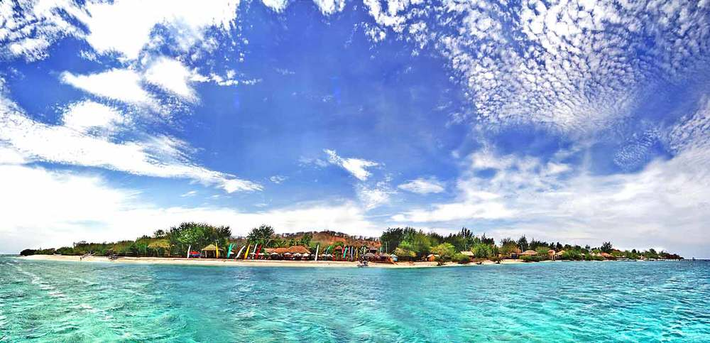 Pearl of trawangan gili trawangan lombok indonesia - Lombok dive resort ...