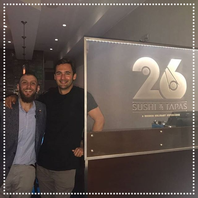 Jason Silva - Host/Presenter: BrainGames - When a mind like Jason's sets out to do something, it accomplishes it. Which is exactly what he did when he set out to try the best Sushi and Latin Fusion in Florida! He found it right here at 26 Sushi & Tapas on March 20th, 2017, and he assured us he would be back! hopefully he'll bring along his friend Neil Degrasse Tyson!!  IG   @jasonsilva