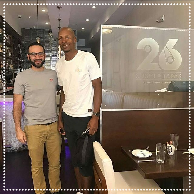 Ray Allen - 2x NBA Champion, 10x NBA All Star, Olympic Gold Medalist  - The one and only Ray Ray, Jesus Shuttlesworth, and beloved Heat Champ came by on February 27th, 2017 to see what all the buzz was all about, and of course, his experience was a 3-Pointer.....  IG:   @trayfour