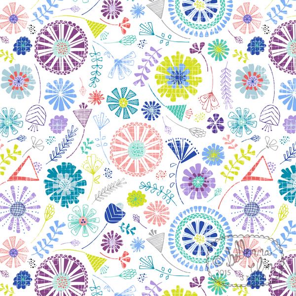 Bellenna Elm Studio Funky Flowers.jpg