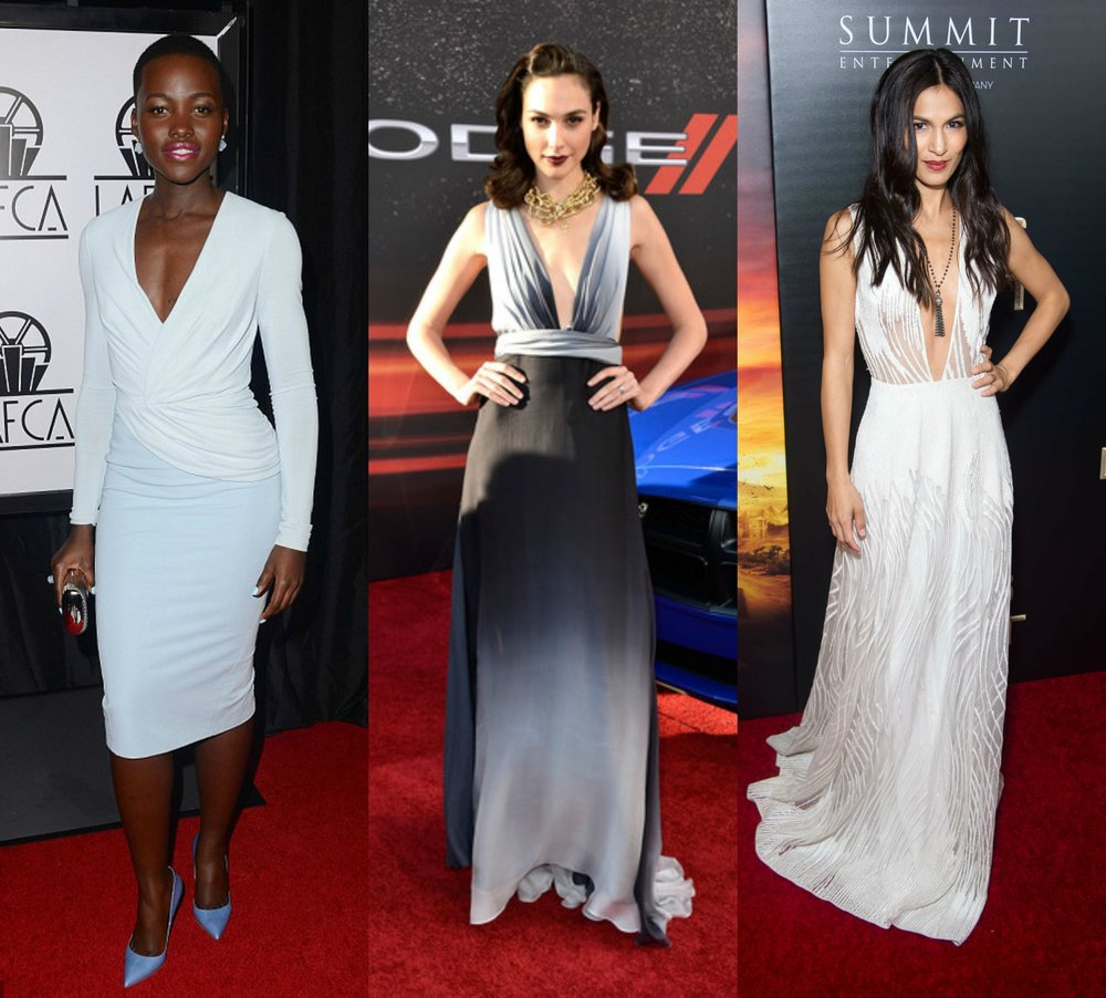 Lupita-Nyong'o,Gal-Gadot,Elodie-Yung-top-3-celebrities-i-would-love-to-design-for