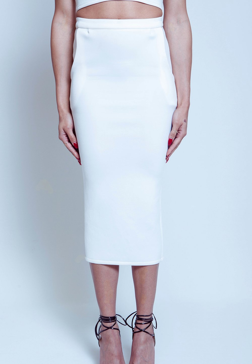 White Lotus Skirt - An edgy yet classic look...