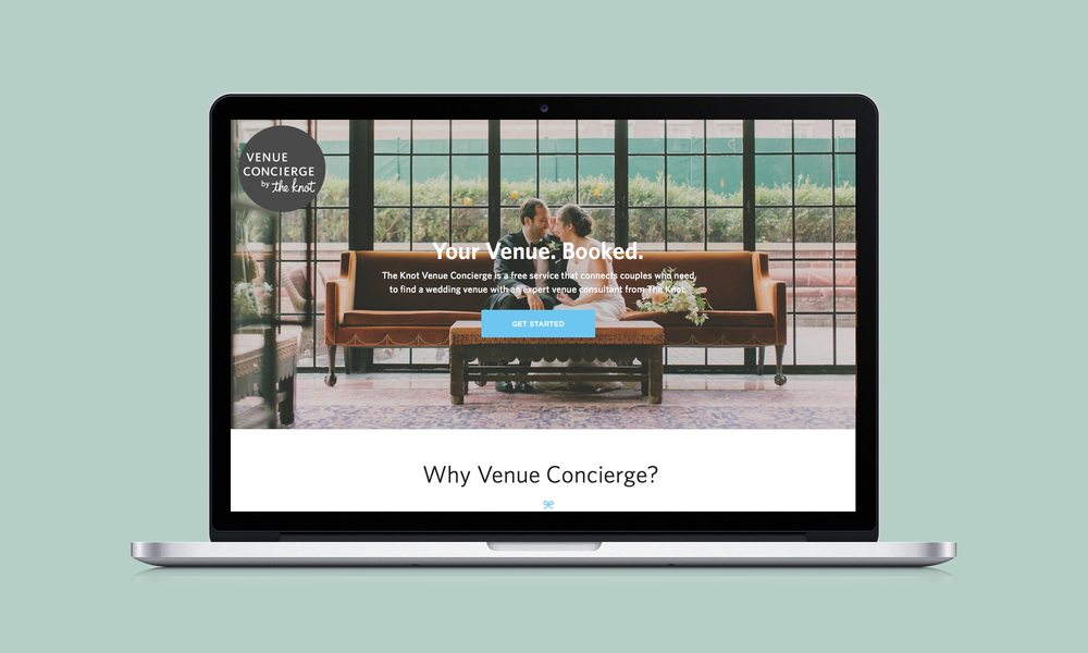 venue concierge is a brand new high value offering that matches to be wed couples with a personal concierge to help find their perfect wedding venue