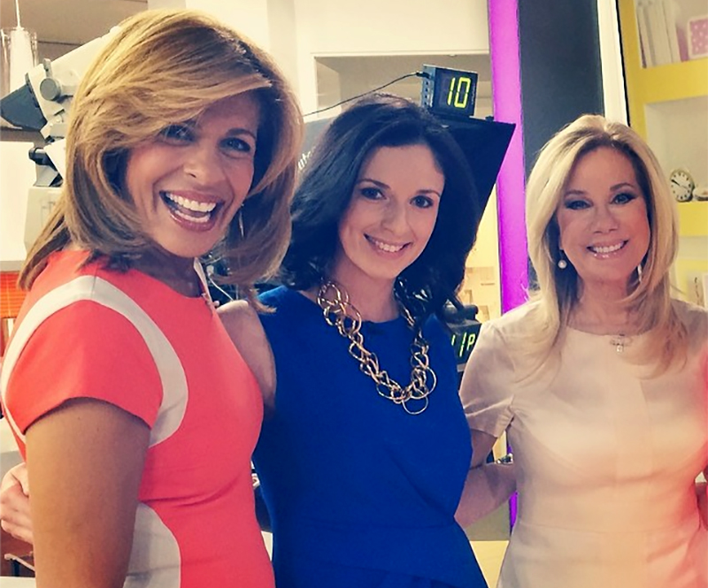 Post-segment with Hoda and Kathie Lee.