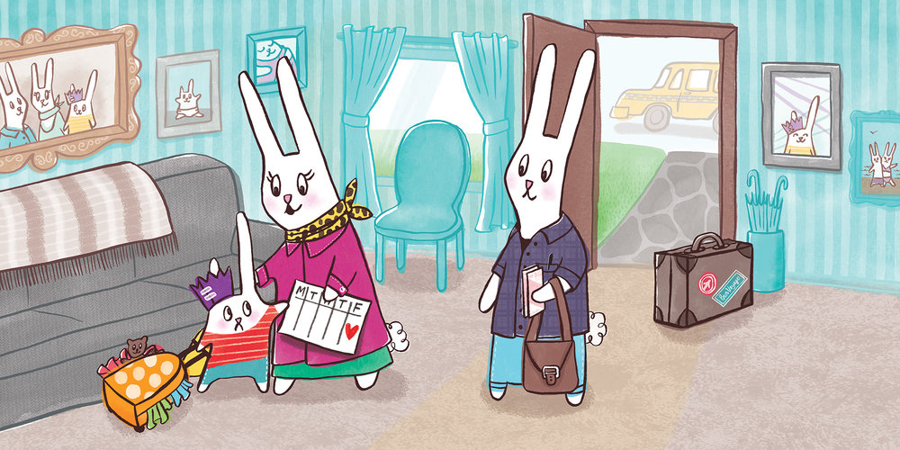 Bunny's Staycation (Mama's Business Trip),  coming soon from Scholastic