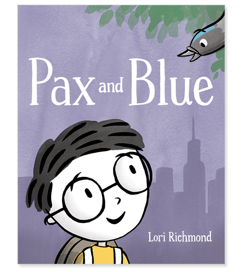 * A School Library Journal Popular Pick * One thing is for sure. Pax is the littlest everywhere he goes. In school. At playtime. On the train. Then Pax meets a pigeon at the park—he names him Blue and makes a friend who knows what it's like to be small. And understanding each other can lead to the best friendships.