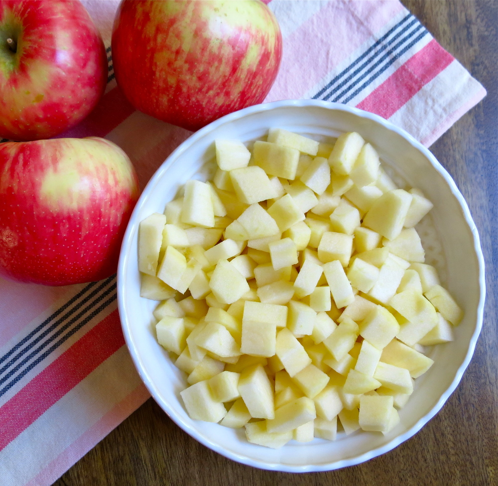 Fresh honey crisp apples!