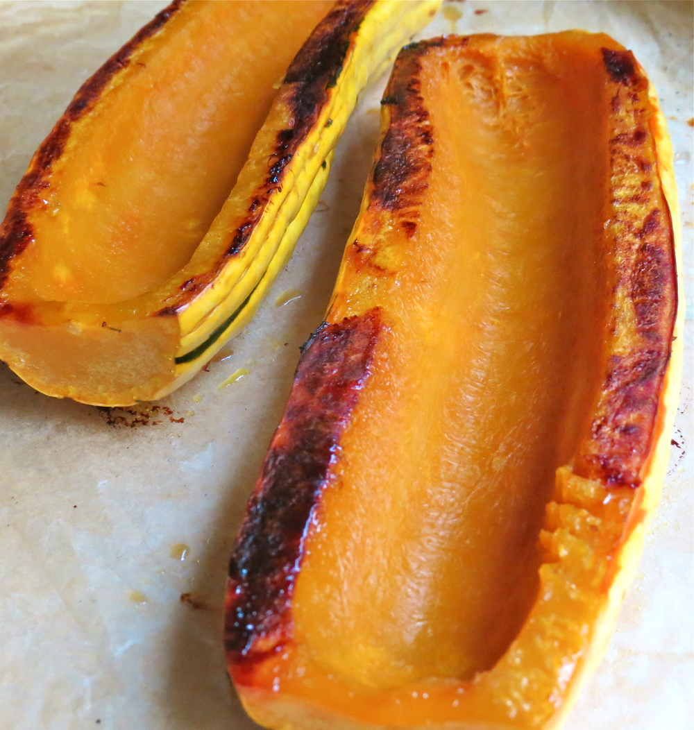 Delicata roasted.