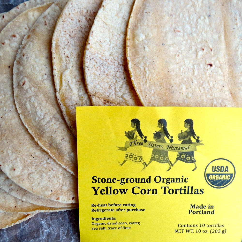 Love these locally made tortillas!