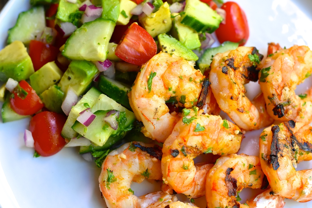 Pair with my Cucumber, Tomato, and Avocado Salad for a refreshing combination!