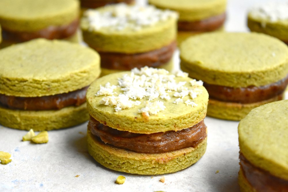 "My version of ""alfajores"""
