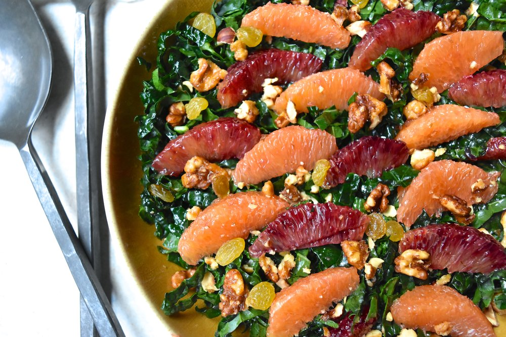 Kale Citrus Salad 1