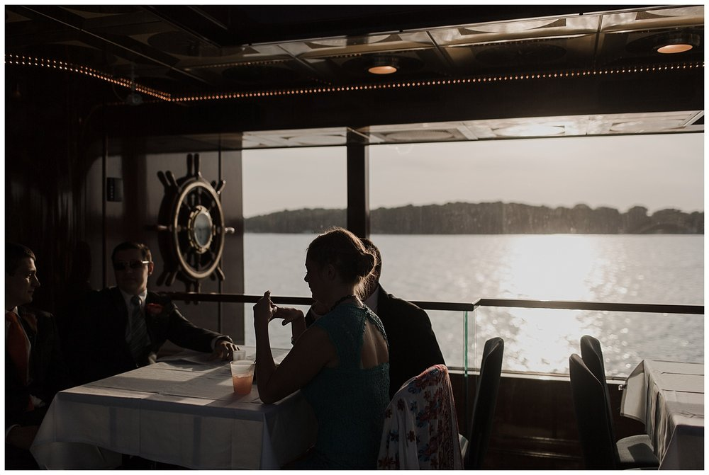 Minnetonka Boat Cruise Wedding