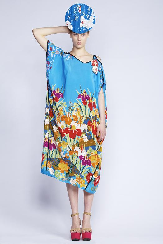 520/F130312 Cut Out Kaftan