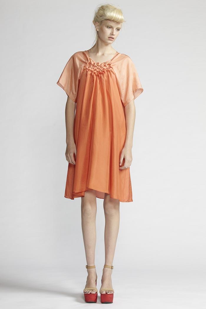 190/F21491 Origami Dress