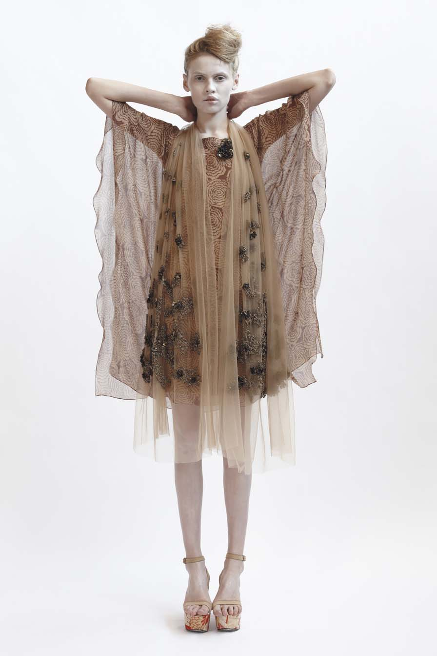 125/F01428 Boat Neck Kaftan    140/F01426S Bias Short Slip    900/F07417 Beaded & Sequinned Shawl