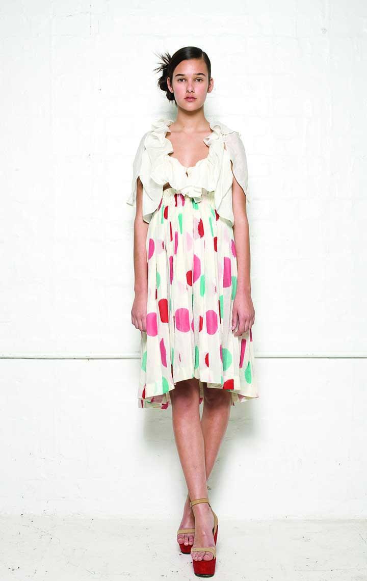 145/S01394 Spiral Shibori Short Dress    150/S08155 Spiral Shibori Bolero