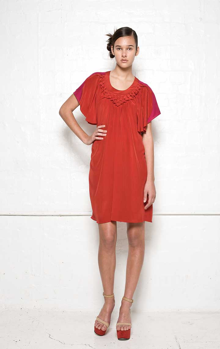 110/S01391 Origami Cut Out Dress