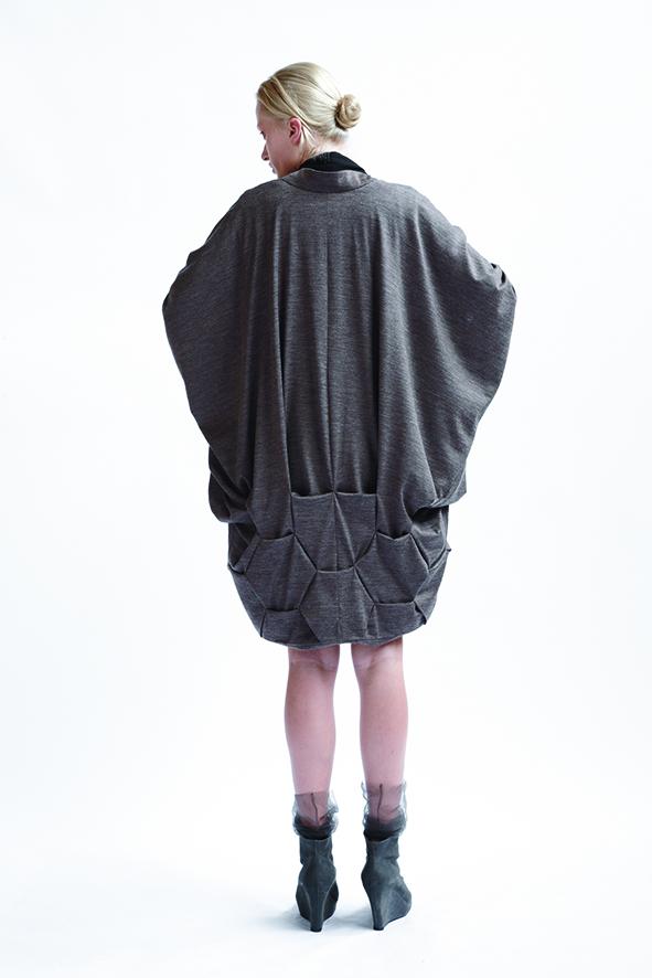 210/A09074 Origami Kimono Coat