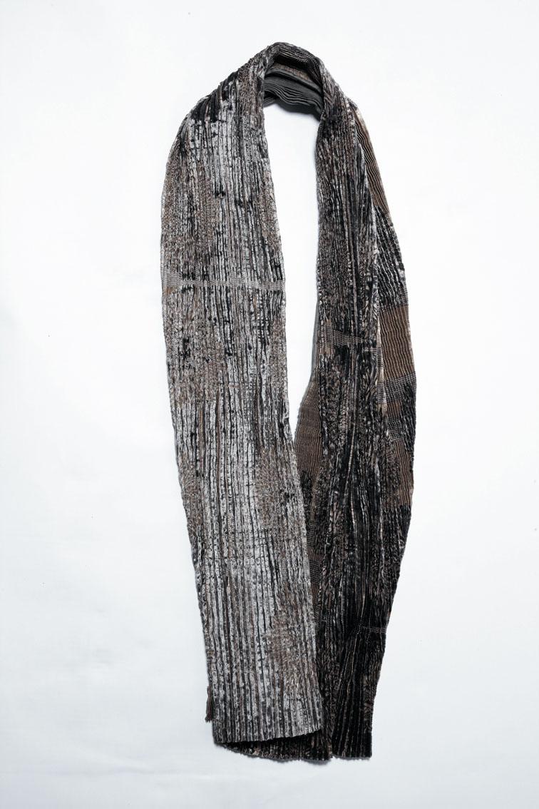 900/A07406 Shibori Velvet Scarf