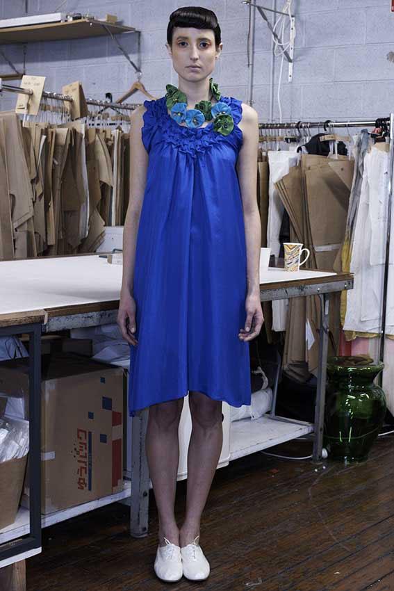 110/F01161 Origami Dress