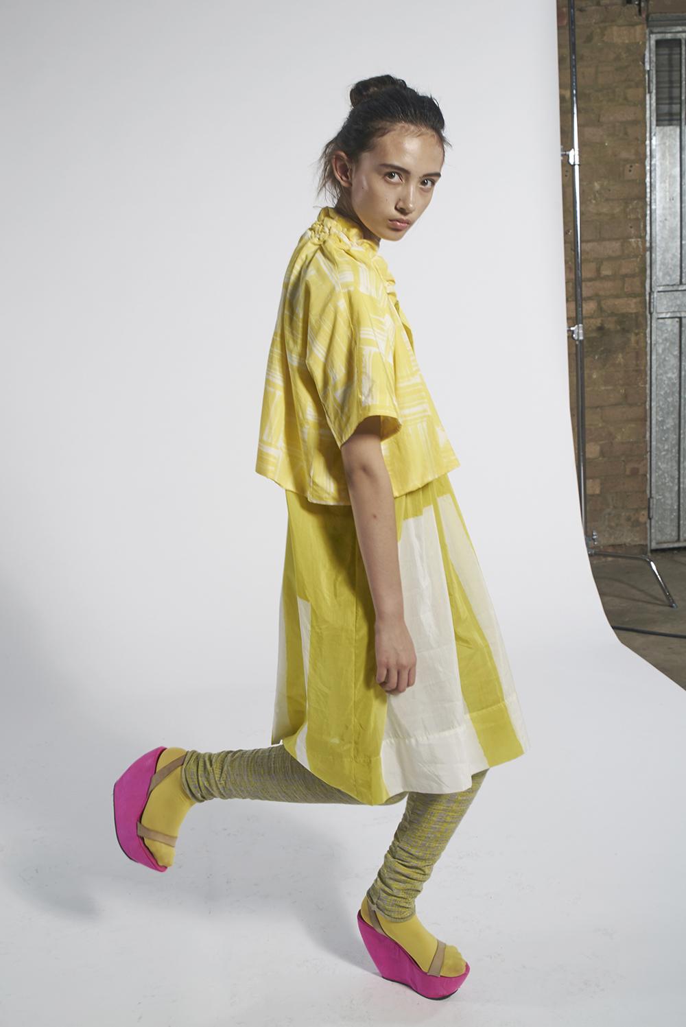 592/A158212 Origami Bolero 593/A157261 Batik Pintuck Tunic with Slip