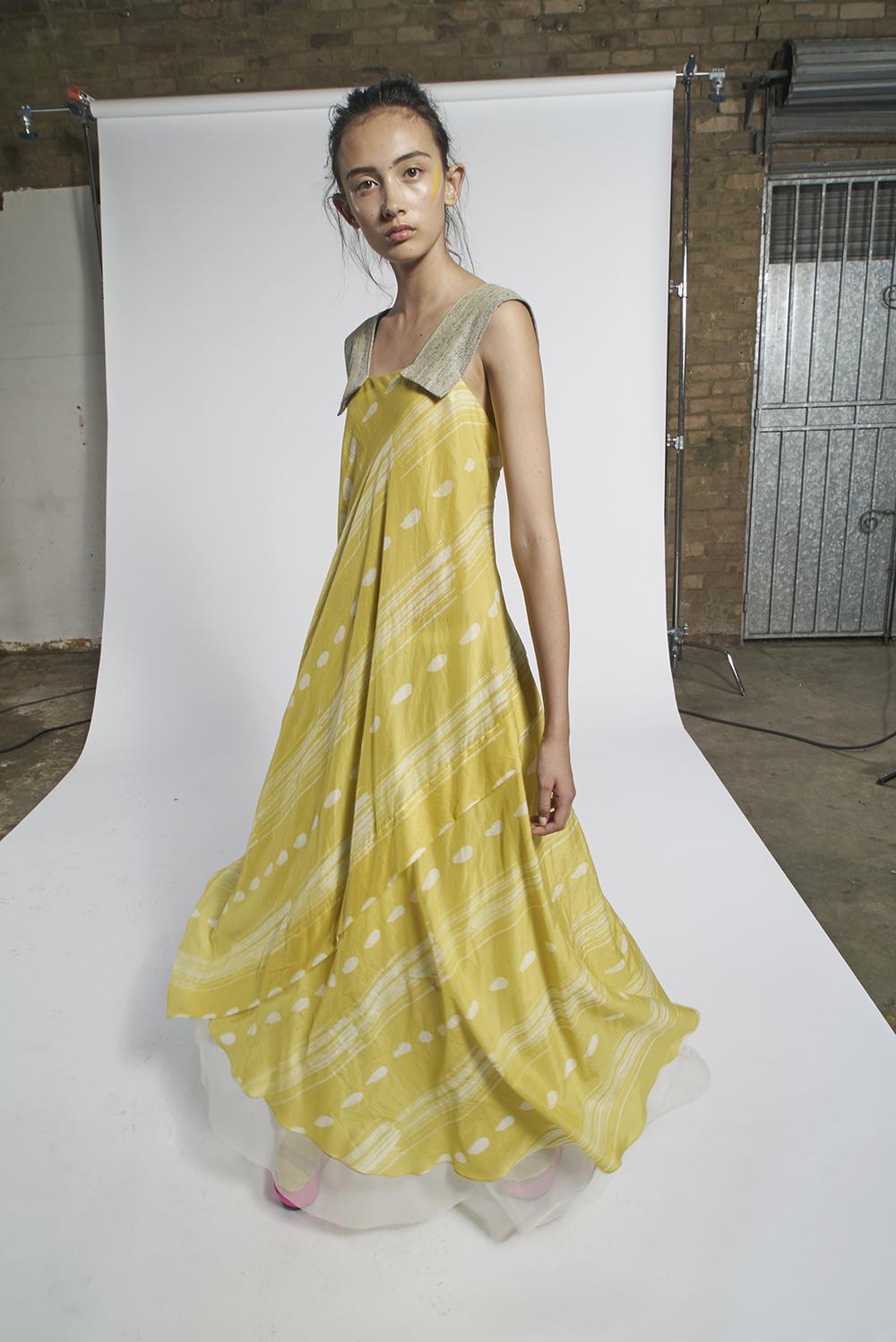 593/A151572 Batik Strap Dress