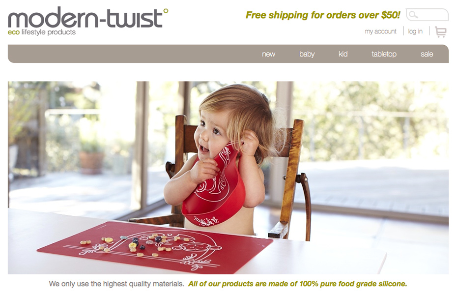 Modern-twist website