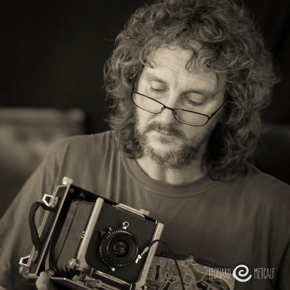 Selfie © Leonard Metcalf 2014