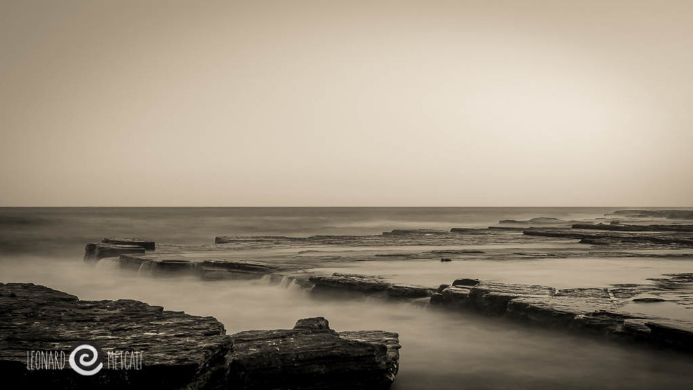 Sydney coastline - Northern Beaches © Leonard Metcalf 2012