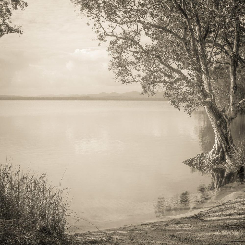 Myall Lake Copyright © Len Metcalf
